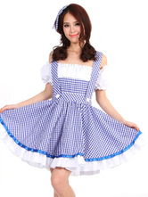 Anime Costumes AF-S2-663951 Halloween Sexy Costume The Wizard Of Oz Maid Costume Women's Dress Outfit