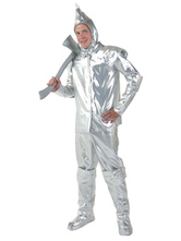 Anime Costumes AF-S2-663949 Halloween Sexy Costume The Wizard Of Oz Tin Man Silver Outfit Cosplay Costume