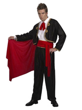 Anime Costumes AF-S2-663931 Sexy Bullfighter Costume Halloween Spanish Men's Black Pants Outfit