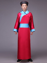 Anime Costumes AF-S2-664455 Men's Chinese Costume Halloween Eunuch Ancient Red Gown Outfit