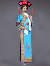 Anime Costumes AF-S2-664463 Women's Chinese Costume Halloween Qing Dynasty Princess Fancy Dress