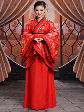 Anime Costumes AF-S2-664687 Halloween Chinese Costume Women's Red Ancient Traditional Outfit