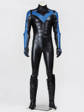 Anime Costumes AF-S2-664925 Batman Arkham City Nightwing Halloween Cosplay Costume
