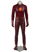 Anime Costumes AF-S2-664929 The Flash Season 1 Barry Allen Halloween Cosplay Costume