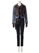 Anime Costumes AF-S2-664795 Rogue One: A Star Wars Story Jyn Erso Halloween Cosplay Costume