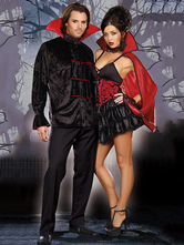 Anime Costumes AF-S2-664713 Vampire Couple Costume Halloween Outfit