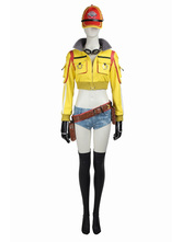 Anime Costumes AF-S2-664813 Final Fantasy XV Cindy Aurum Halloween Cosplay Costume