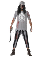 Anime Costumes AF-S2-664727 Halloween Couple Costume Zombie Walking Dead Pirate Costume Outfit