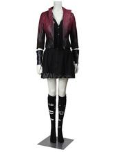 Anime Costumes AF-S2-664933 Avengers Age Of Ultron Scarlet Witch Wanda Django Maximoff Halloween Cosplay Costume