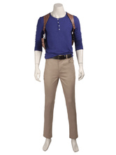 Anime Costumes AF-S2-664821 Uncharted 4 A Thief's End Nathan Drake Halloween Cosplay Costume