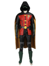 Anime Costumes AF-S2-664819 Justice League Vs. Teen Titans Damian Wayne Robin Halloween Cosplay Costume