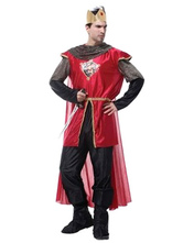 Anime Costumes AF-S2-664719 Halloween Couple Costume Ancient Roman Royal King Queen Outfit Set
