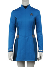 Anime Costumes AF-S2-664843 Star Trek Beyond Carol Cosplay Yellow Costume