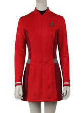 Anime Costumes AF-S2-664847 Star Trek Beyond Uhura Cosplay Red Costume
