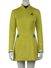 Anime Costumes AF-S2-664845 Star Trek Beyond Uhura Cosplay Yellow Costume