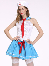 Anime Costumes AF-S2-666055 Sexy Sailor Costume Halloween Women's Skirt Outfit