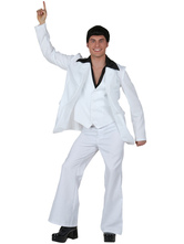 Anime Costumes AF-S2-666161 Men's Carnival Costume Men's White Pants Outfit