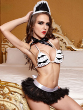 Anime Costumes AF-S2-666053 Sexy Maid Costume Halloween Women's Bra Outfit