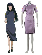 Anime Costumes AF-S2-666783 Naruto Hinata Hyuga Cosplay Costume Chinese Style Costume