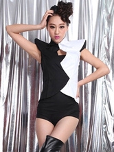Anime Costumes AF-S2-666963 Jazz Dance Costume Two Tone Outfits Women's Dance Costumes