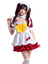 Anime Costumes AF-S2-666993 Japanese Anime Kawaii Maid Dress