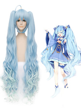 Anime Costumes AF-S2-670099 Vocaloid Snow Miku Hatsune Miku Cosplay Wig