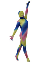 Spandex Zentai Suit Multi Color Full Body Women's Lycra Suit Halloween