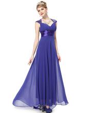 Vestidos de damas de honor color azul electrico