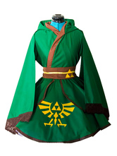 Легенда о Zelda Link Cosplay Kimono Lolita Dress Cosplay Costume Хэллоуин
