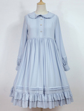 Sweet Classic Lolita Op One Piece Dress Rosemary Country Style Lolita Solid Color Dress