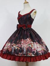 Wa Lolita Jsk Jumper Skirt Hyakki Yagy Lolita Jsk Original Design