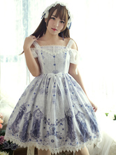 Classic Lolita Jsk Jumper Skirt Neverland Nightmare Magic Spell Jumper Skirt Original Design