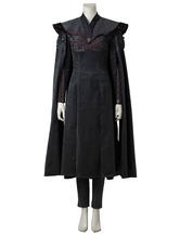 Game Of Thrones Khaleesi Daenerys Targaryen Cosplay Costume With Cloak Version