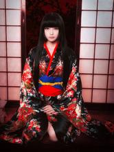Hell Girl Enma Ai Halloween Cosplay Costume Kimono Version