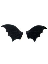 Gothic Lolita Wings Infanta Black Tweed Lolita Accessories