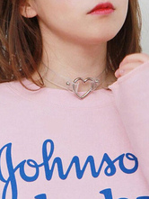 Sweet Lolita Choker Transparent Hearts Lolita Accessories