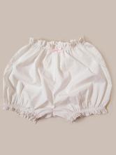 Classique Lolita Bloomers dentelle plissée blanc lolita shorts