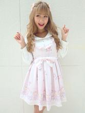 6d4a5d6ffa7c Sweet Lolita Jumper Skirt Dress Ruffles Lolita Jsk For Summer - Milanoo.com