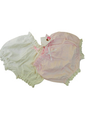 Sweet Lolita Blommer Lolita Shorts With Bow For Winter Keep Warm