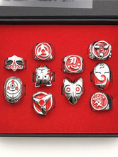 Naruto Anime Cosplay Ring Set в 10 фото