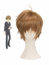 Cardcaptor Sakura Syaoran Li Cosplay Wig