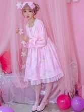 Sweet Lolita Robe une pièce Op Banana Bunny Light Sweet Lolita Dress