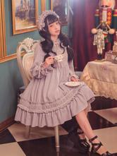 Classique Lolita Couvre-chef KC Solide Couleur Lolita Vintage
