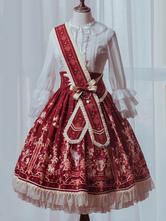 Sweet Lolita Skirt Sk Royal Circus Princess Hamster Sweet Lolita Gonna solo gonna