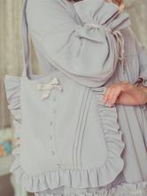 Classique Lolita Bag couleur unie Vintage Lolita Bag