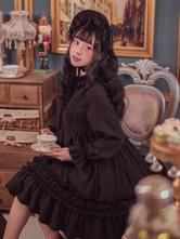 Classique Lolita Bonnet Solide Couleur Vintage Lolita Headwear