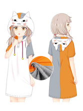 Japanese Anime Kawaii Neko Cat Summer Pajamas Cosplay Kigurumi