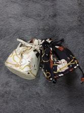 Bolsa de Lolita clássico vento história coelho imprimir Deep Blue Lolita Bag