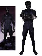 Черная пантера Marvel Comics Хэллоуин Косплей Костюм Lycra Spandex Catsuit Jumpsuit