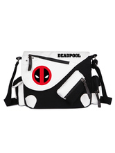 Halloween Zaino di Deadpool Marvel Comics Movie Zaino di tela nera